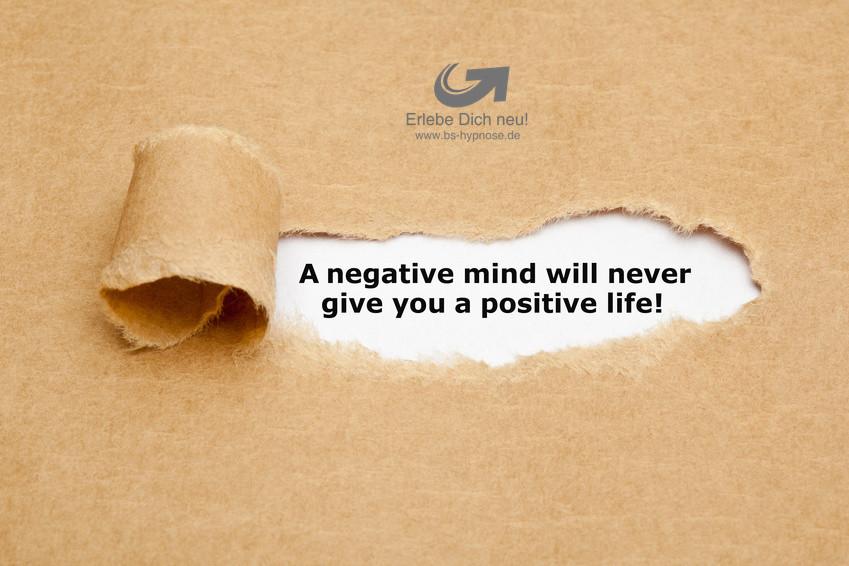 negative gedanken